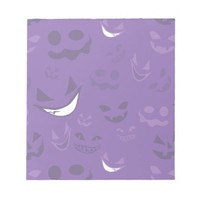 Spooky Faces Memo Note Pads