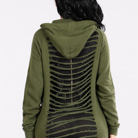 Come Go With Me Hoodie - Olive