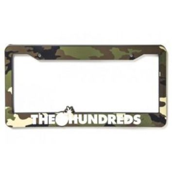 The Hundreds, License Plate Cover - Camo - The Hundreds - MOOSE Limited