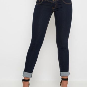Freedom Flex Dark Blue High Waist Jegging | Jeggings | rue21