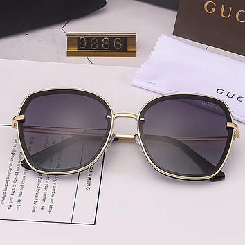 GUCCI Woman Men Fashion Sun Eyeglasses Glasses Sunglasses