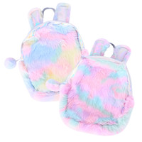 Hologram Fur Backpack