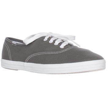 Keds Champion Oxford Lace-Up Sneakers - Graphite