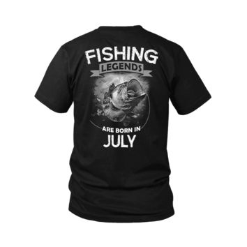 ESBV4S Fishing Legends Are Born In July Shirts