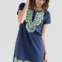 MARQUELIA EMBELLISHED DRESS