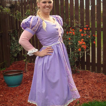 Adult Rapunzel Dress  Made to Order Specific by PlayfulPrincesses