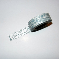 Black Key Washi Tape