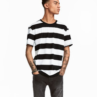 Striped T-shirt - from H&M