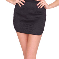 Club House Mini Skirt - Black