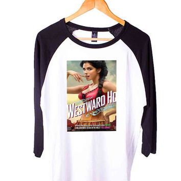 Affiche Sarah Silverman Short Sleeve Raglan - White Red - White Blue - White Black XS, S, M, L, XL, AND 2XL*AD*