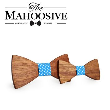 My Favorite! - Father and Son - Mahoosive Wooden Bow Ties