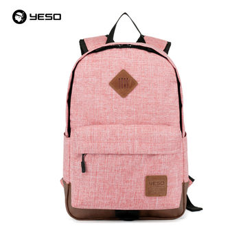 New Japan and Korean Style College Girls Boys Students Canvas Laptop Book Backpack Women Men Leisure Cute School Bags 3 Colors