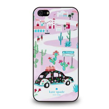 KATE SPADE NEW YORK ROAD TRIP iPhone 5 / 5S / SE Case Cover
