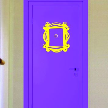 Friends Door Frame Wall Decal Sticker Vinyl Art Decor Room Funny TV Show Teen