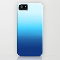 Dip Dye Ombre (turquoise) iPhone & iPod Case by Natalie Baca