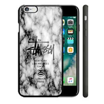 Best Stussy White Marble iPhone 6 6s 6+ 6s+ 7 7+ Hard Plastic Case