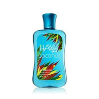 Bath & Body Works Hawaii Coconut Shower Gel Signature Collection 10 oz