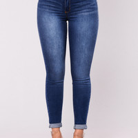 All Star Skinny Jeans - Medium Wash