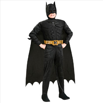 halloween costume boys batman carnaval costumes for kids animal boys captain america suit cosplay child mask custom batman