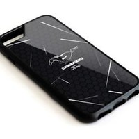 Ford Mustang Hexagon Automotive iPhone X 5s 5c 6 6s 7 8 Plus Hard Plastic Case