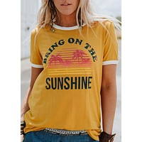 Bring On The Sunshine Graphic Tee