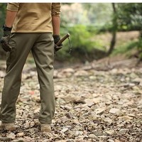 TAD Shark Skin Waterproof Windproof Outdoor Hiking Climbing CS Camouflage Hunting Pants  Fleece Trousers Military Army Pant
