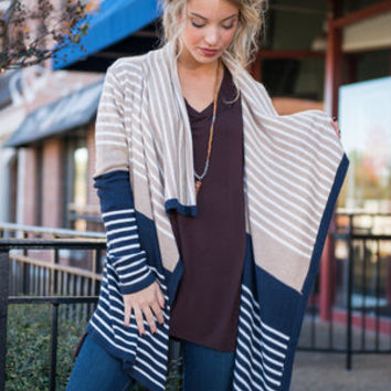Coming Over Cardigan, Navy