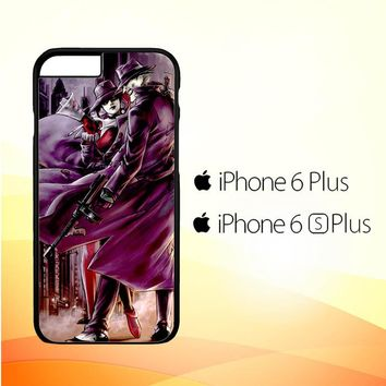 JOKER AND HARLEY QUINN ART Z0029 iPhone 6 Plus|6S Plus Case