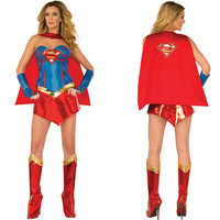 Halloween Superman Apparel Uniform [9211525060]