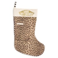 Vans Checkered Stocking (Gold)