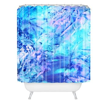 Rosie Brown Ocean Bottom Shower Curtain