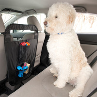 Evelots® Easy To Install Auto Pet Barrier - Keep Dogs in Back Seat of Car, Black