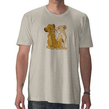 Simba and Nala Disney Tee Shirts from Zazzle.com