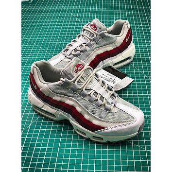 Nike Air Max 95 University Red 749766-601 Sport Running Shoes