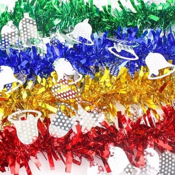 Christmas Elk Paper Garlands String Hanging Flag New Year Party Decoration