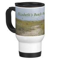 Personalized For Your Beach Trip Travel Mug