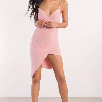 Maddie Asymetrical Bodycon Dress