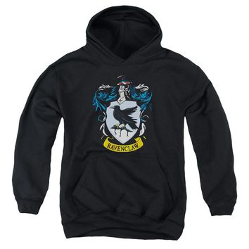 Harry Potter - Ravenclaw Crest Youth Pull Over Hoodie