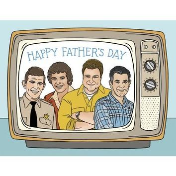 THE FOUND TV DADS CARD