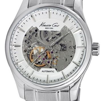 Kenneth Cole Stainless Steel Automatic Watch 10027200
