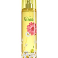 Fine Fragrance Mist Love & Sunshine