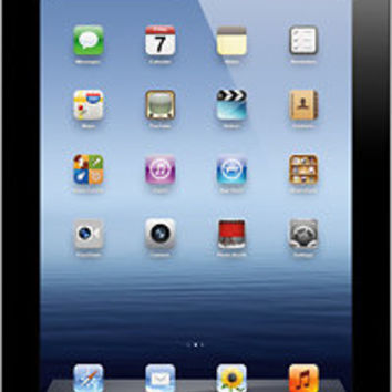 Apple® - iPad® with Wi-Fi + Cellular (Verizon) - 32GB - 3rd Generation - Black