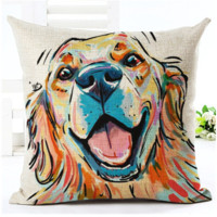 Watercolor Dog Cushions - Choose Your Breed