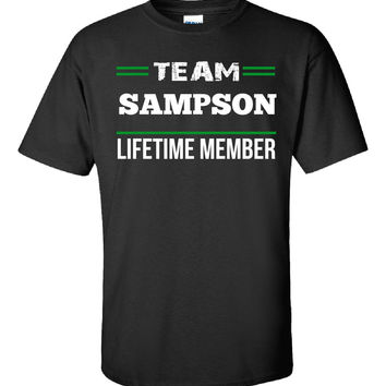 Team SAMPSON Lifetime Member - Unisex Tshirt