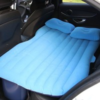 Universal Car Seat Bed Inflatable Mattress Outdoor Bed Lazy Sofa Air Bed