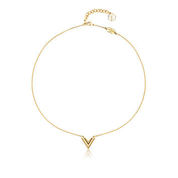Products by Louis Vuitton: Essential V necklace