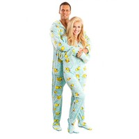 Duck Footed Pajamas, Ducky Animal Onesuits Footed Pajamas
