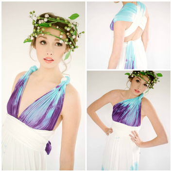 Anyway Dress Convertible S,M,L,XL, Custom made to order in any length