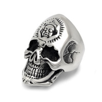 Shiny Jewelry Gift Stylish New Arrival Vintage Titanium Accessory Punk Strong Character Ring [6544843651]