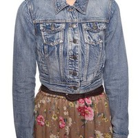 Acid Washed Denim Jacket | FOREVER 21 - 2002928529